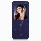 "ONN Q9 Ultra-Slim 1.8"" TFT Screen Sporting MP4 Player w/ FM / USB 2.0 / 3.5mm / TF - Orchid (8GB)"