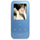 "ONN V2 Ultra-Slim 1.8"" TFT Screen Sporting MP4 Player w/ FM / USB 2.0 / 3.5mm / TF - Blue (8GB)"