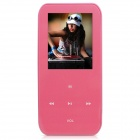 "ONN V2 Ultra-Slim 1.8"" TFT Screen Sporting MP4 Player w/ FM / USB 2.0 / 3.5mm / TF - Pink (8GB)"