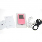 "ONN V2 ultra-mince 1,8"" TFT écran sportifs MP4 Player w / FM / USB 2.0 / 3.5 mm / TF - rose (8 Go)"