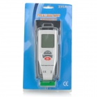 2'' LCD Dual Input Temperature Meter / Thermometer- White + Grey + Multi-colored (1 x 9V Battery)