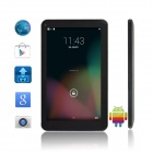 "YUNTAB V76Pro 7.0"" Quad-core Android 4.4 Tablet PC w/ 512MB RAM, 4GB ROM, TF, Dual-Camera - Black"