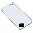 Lovely Cat Pattern LED Flash Light Protective ABS Back Case for IPHONE 5 / 5S - Black + White