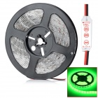 HML N56 Wasserdicht 72W 5000lm 300-530nm SMD 5630 LED Green Light Strip - Translucent (5M / DC12V)