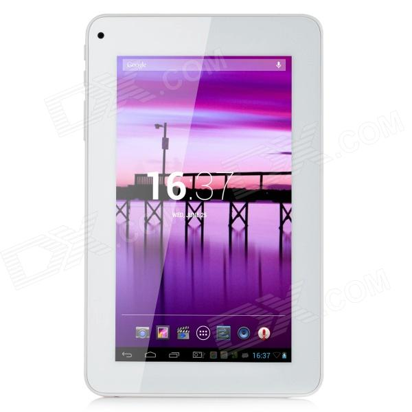 R70KB 7 LCD Dual Core Android 4.2 Tablet PC w/ 1GB RAM, 8GB ROM, 3G, Wi-Fi, TF - White + Orange 7 ips android 4 4 quad core tablet pc w 1gb ram 8gb rom dual cam white
