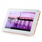 "R70KB 7 ""LCD Dual Core Android 4.2 Tablet PC avec 1 Go de RAM, ROM 8 Go, 3G, Wi-Fi, TF-Blanc + Orange"