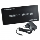 CHEERLINK HSP0104AN 1-In 4-Out 1080P HDMI V1.3 Splitter w / EU Plug
