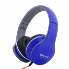 Ditmo 3.5mm Foldable Stereo Headphone for MP3 Player / Mobile Phones / Other Devices - Dark Blue