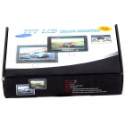"7"" TFT LCD 2-CH Digital Rear View Monitor w/ Sunshade + Remote Control (PAL & NTSC)"