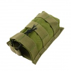 Outdoor Sports Tactical Nylon Bag for Walkie Talkie / Cellphone - Army Green