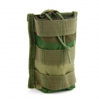 Outdoor Sports Tactical Nylon Bag for Walkie Talkie / Cellphone - Camouflage
