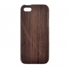 Thicken Protective Wooden Back Case for IPHONE 5 - Brown