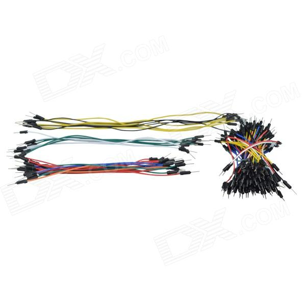 DMDG X2 Breadboard Jumper Wires for Arduino (12~25cm, 130 PCS, Works with Official Arduino Boards)