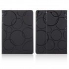 ENKAY Auto Sleep and Wake Up Designed Protective PU Leather Case w/ Stand for IPAD Air - Black