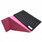 "BK168 7"" Bluetooth V3.0 59-Key Keyboard w/ Protective PU Leather Case for IOS / Android / Windows"