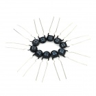 NTC-Thermistor-5D-8-Set - Schwarz (10 PCS)