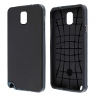 DHFFashionable Neo Hybrid Silicone and PC Case for Samsung Galaxy Note 3 - Black