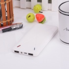 "BP 10000mAh ""X"" tynn Li-polymer Universal Dual USB transportabel makt kilde Bank for IPHONE / Samsung"