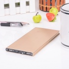 "BP M1 ""15600mAh"" Li-polymer Dual-USB Mobile Power Source Bank for IPHONE / Samsung + More - Golden"
