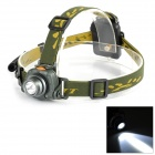 FANDYFIRE TL-602A CREE XP-E Q5 1-LED 105lm 1-Mode White Induction Headlamp - Grayish Green (3 x AAA)