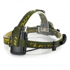FANDYFIRE TL-602A 1-LED 105lm 1-Mode White Induction Headlamp - Grayish Green (3 x AAA)