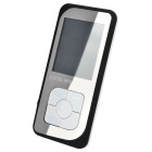 Fashionable Ultra-thin 1.8'' TFT MP4 Player w/ FM / TF - Black + White