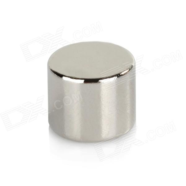 12X10mm Cylindrical NdFeB Magnets - Silver (10PCS)