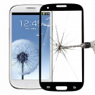 Tempered Glass Film for Samsung Galaxy S3 i9300 - Black + Transparent