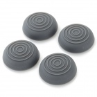 Silicone Thumb Grips Joystick Caps for Xbox One / Xbox 360 / PS4 / PS3 Controller - Grey (4 PCS)