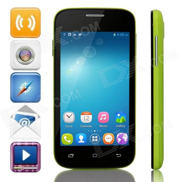 Mpie H188+ MTK6572 Dual-Core Android 4.4 WCDMA Bar Phone w/ 4.0