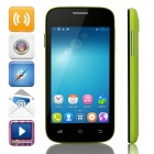 "Mpie H188+ MTK6572 Dual-Core Android 4.4 WCDMA Bar Phone w/ 4.0"" TFT, Wi-Fi, FM, GPS - Green + Black"