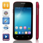 "Mpie H188+ MTK6572 Dual-Core Android 4.4 WCDMA Bar Phone w/ 4.0"" TFT, Wi-Fi, FM, GPS - Deep Pink"