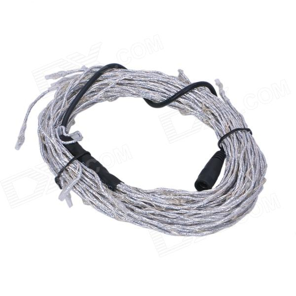 Flexible Vine Style 10.8W 180-SMD 0603 LED RGB Light Strip - Silver + Black (DC 12V)