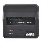 "MAIWO K300 USB 3.0 2.5"" / 3.5"" SATA HDD Mobile Hard Disk Drive Docking Station - Black (Max. 3TB)"