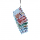 HG2014005 Creative RMB Style Plastic Hanging Decoration - Pink