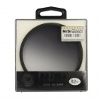NISI 82mm Soft Grey Graduated Filter for Nikon / Canon / Sony + More - Black + Grey