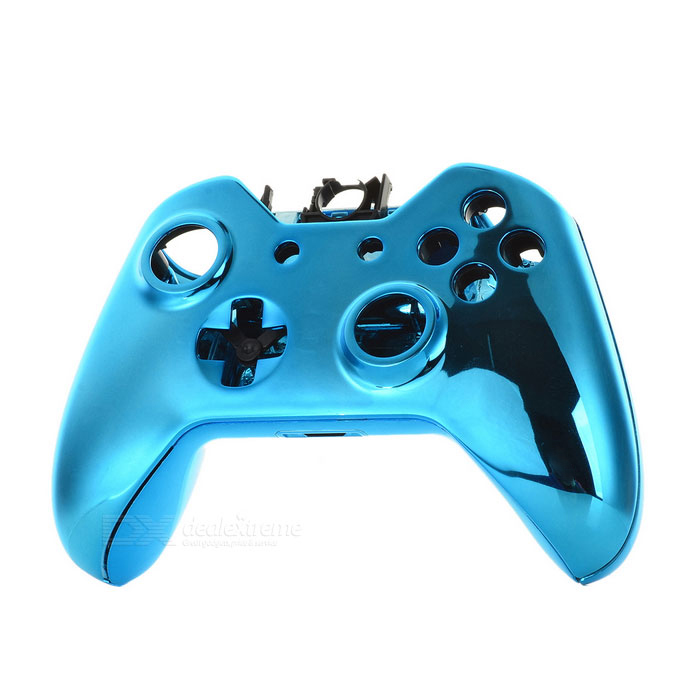 SW-0003 Replacement Full Housing Case + Buttons for XBOX ONE Wireless Controller - Deep Blue one piece 1x brand new high quality silicon protective skin case cover for xbox 360 remote controller blue green mix color