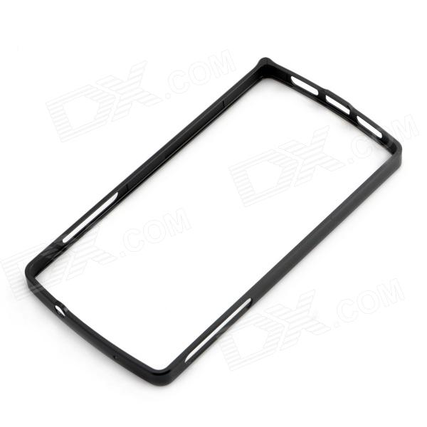 0.7mm Ultrathin Aluminum Protective Aluminum Bumper Frame for LG Nexus 5 - Black 0 7mm ultrathin aluminum protective aluminum bumper frame for lg nexus 5 black