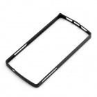 0.7mm Ultrathin Aluminum Protective Aluminum Bumper Frame for LG Nexus 5 - Black