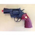 "CROWN MODEL Colt Python 2.5"" Airsoft Pistol - Black"