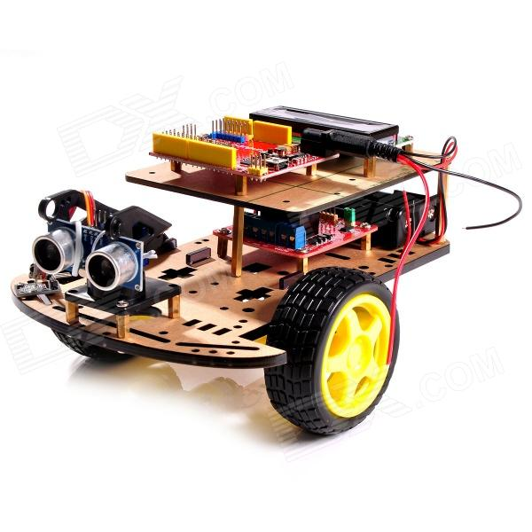 R0008 Multi Function Ultrasonic Robot Car Kits For Arduino