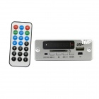 "TWP TWP-BTS 1,4"" Bluetooth MP3 decodificación tablero módulo LED w / SD / USB 2.0 / FM / remoto - plata"