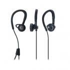 Audio Technica ATH-CP500BK Players Line Sport Fit Ear-bud Headphones Black