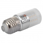 Lexing LX-YMD-102 4.5W E27 280lm 3500K 50-SMD 3014 LED Warm White Lamp - White (AC 220~240V)