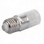 Lexing LX-YMD-103 4.5W E27 280lm 6500K 50-SMD 3014 LED White Lamp - White + Silver (AC 220~240V)