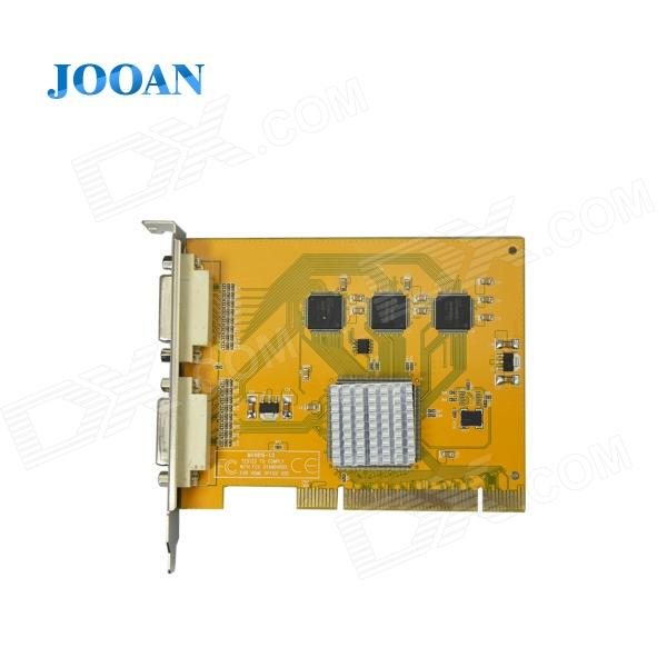 JOOAN JA-MV9216A 16-CH D1 HD Video Capture Card w/ PCI Slot / BNC DVR Card new original inverter cimr jb4a0009baa 3kw 380v