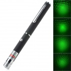 5mW 532nm Green Light Laser Pen - Black (2 x AAA / DC 3~3.7V)