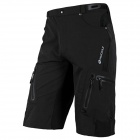 NUCKILY NS357 Men's Quick-Dry Outdoor Cycling Short Pants - Black (S)