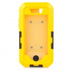Protective Sports Waterproof IPX8 Case w/ Arm Band + Strap for IPHONE 5 / 5S - Yellow + Black