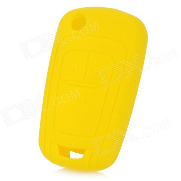 gel14032306 Silicone Car Key Case Cover for 2011 Chevrolet Cruze - Yellow  high quality front rear car auto shock absorber spring bumper power cushion buffer for chevrolet cruze